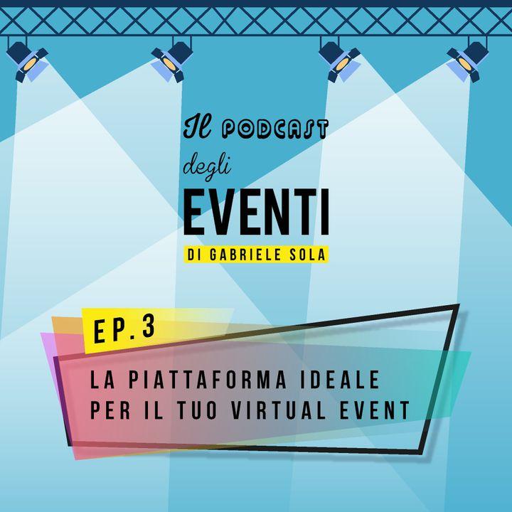La piattaforma ideale per il tuo virtual event